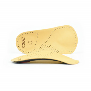 Fully Supporting Orthopedic Insole - 3/4 Length