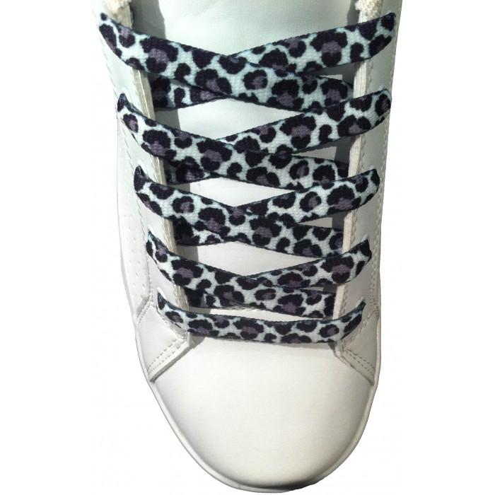 Leopard shoelaces