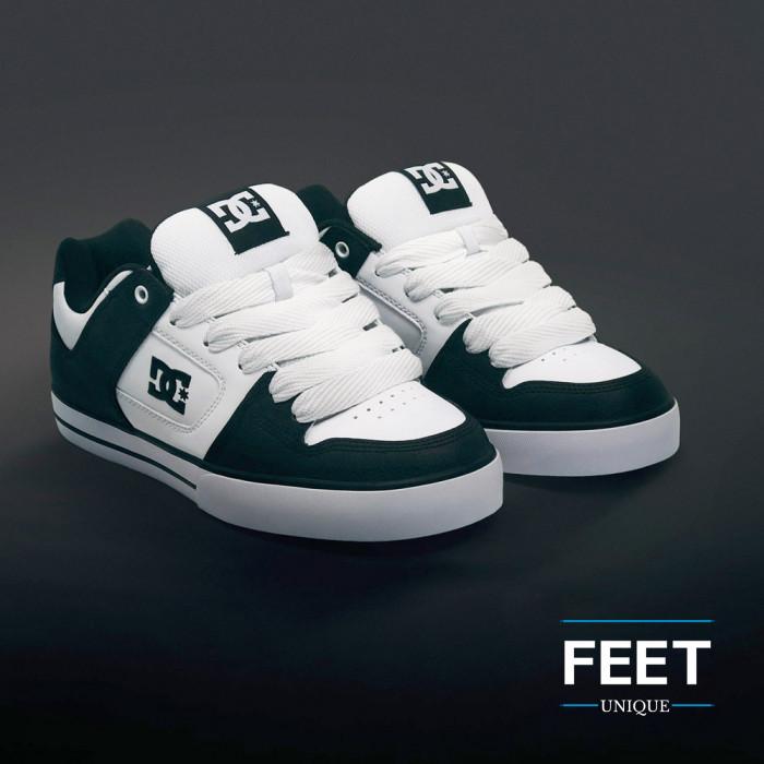 Super wide white shoelaces