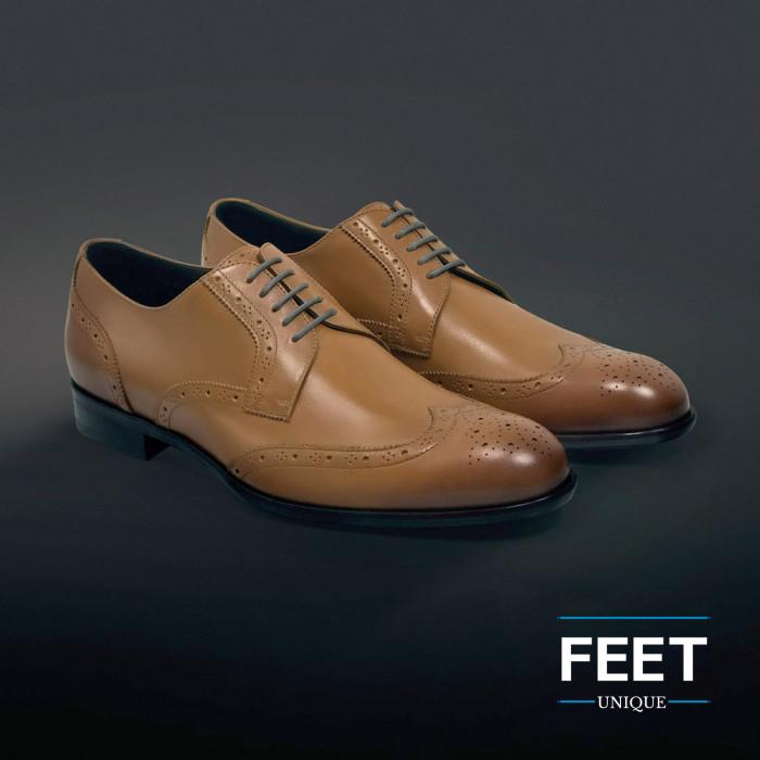 round dress dark grey shoelaces