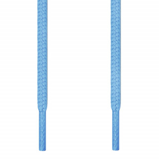 Round light blue shoelaces