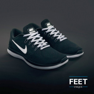 Oval light grey shoelaces