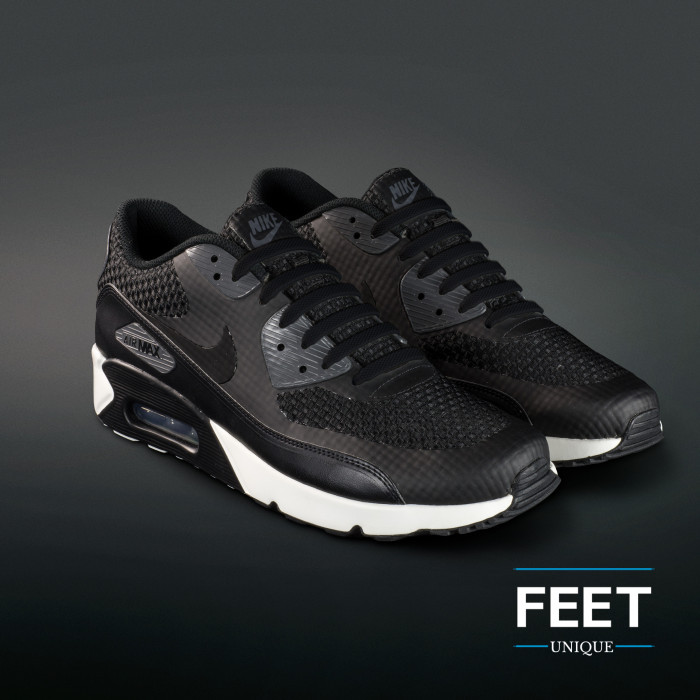 Black elastic silicone shoelaces