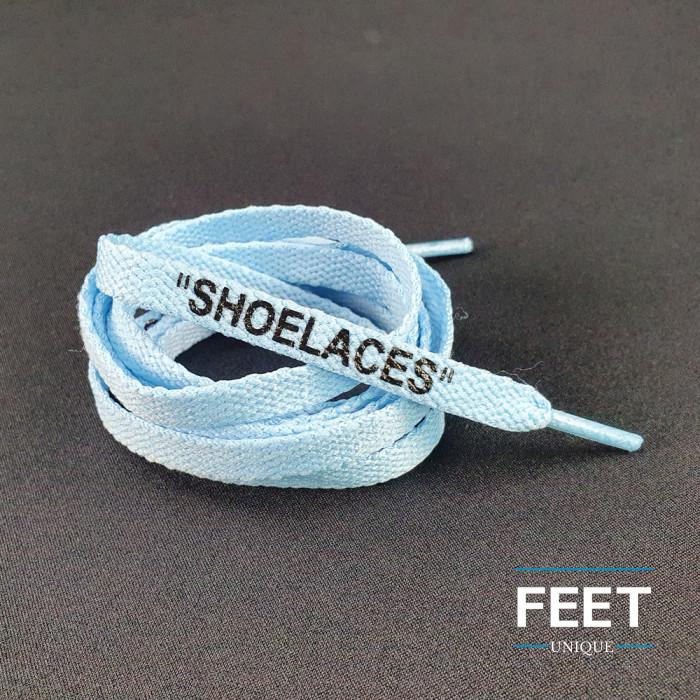 University Blue OFF-WHITE Shoelaces