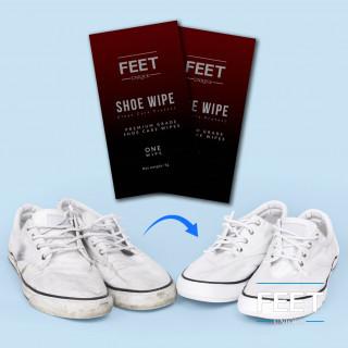 Shoe wipes (2 wipes)